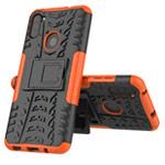Чехол Yotrix Shockproof case для Samsung Galaxy A11 (оранжевый, гелевый)