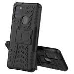 Чехол Yotrix Shockproof case для Samsung Galaxy A21s (черный, гелевый)