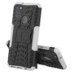 Чехол Yotrix Shockproof case для Samsung Galaxy A21s (белый, гелевый)