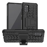 Чехол Yotrix Shockproof case для Samsung Galaxy A31 (черный, гелевый)