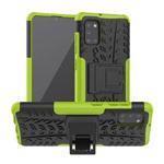 Чехол Yotrix Shockproof case для Samsung Galaxy A31 (зеленый, гелевый)