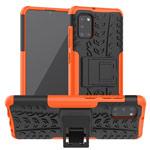 Чехол Yotrix Shockproof case для Samsung Galaxy A31 (оранжевый, гелевый)
