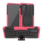 Чехол Yotrix Shockproof case для Samsung Galaxy A31 (розовый, гелевый)