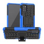 Чехол Yotrix Shockproof case для Samsung Galaxy A31 (синий, гелевый)