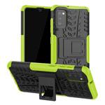 Чехол Yotrix Shockproof case для Samsung Galaxy A41 (зеленый, гелевый)