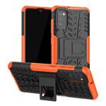 Чехол Yotrix Shockproof case для Samsung Galaxy A41 (оранжевый, гелевый)