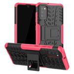 Чехол Yotrix Shockproof case для Samsung Galaxy A41 (розовый, гелевый)