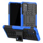 Чехол Yotrix Shockproof case для Samsung Galaxy A41 (синий, гелевый)
