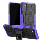 Чехол Yotrix Shockproof case для Samsung Galaxy A41 (фиолетовый, гелевый)