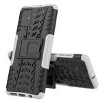 Чехол Yotrix Shockproof case для Samsung Galaxy A71 (белый, гелевый)