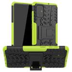 Чехол Yotrix Shockproof case для Samsung Galaxy A71 (зеленый, гелевый)