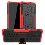 Чехол Yotrix Shockproof case для Samsung Galaxy A71 (красный, гелевый)