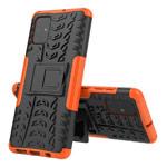 Чехол Yotrix Shockproof case для Samsung Galaxy A71 (оранжевый, гелевый)