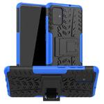 Чехол Yotrix Shockproof case для Samsung Galaxy A71 (синий, гелевый)