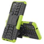 Чехол Yotrix Shockproof case для Samsung Galaxy S20 (зеленый, гелевый)