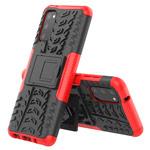 Чехол Yotrix Shockproof case для Samsung Galaxy S20 (красный, гелевый)