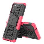 Чехол Yotrix Shockproof case для Samsung Galaxy S20 (розовый, гелевый)