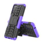 Чехол Yotrix Shockproof case для Samsung Galaxy S20 (фиолетовый, гелевый)