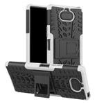Чехол Yotrix Shockproof case для Sony Xperia 8 (белый, гелевый)
