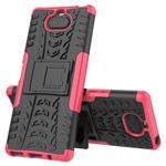 Чехол Yotrix Shockproof case для Sony Xperia 8 (розовый, гелевый)