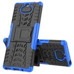 Чехол Yotrix Shockproof case для Sony Xperia 8 (синий, гелевый)
