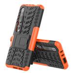 Чехол Yotrix Shockproof case для Xiaomi Mi 10 (оранжевый, гелевый)