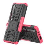 Чехол Yotrix Shockproof case для Xiaomi Mi 10 (розовый, гелевый)