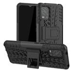 Чехол Yotrix Shockproof case для Xiaomi Mi 10 lite (черный, гелевый)