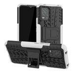 Чехол Yotrix Shockproof case для Xiaomi Mi 10 lite (белый, гелевый)
