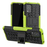 Чехол Yotrix Shockproof case для Xiaomi Mi 10 lite (зеленый, гелевый)