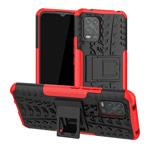 Чехол Yotrix Shockproof case для Xiaomi Mi 10 lite (красный, гелевый)