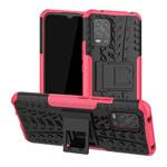 Чехол Yotrix Shockproof case для Xiaomi Mi 10 lite (розовый, гелевый)