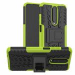 Чехол Yotrix Shockproof case для Xiaomi Poco X2 (зеленый, гелевый)