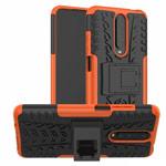 Чехол Yotrix Shockproof case для Xiaomi Poco X2 (оранжевый, гелевый)