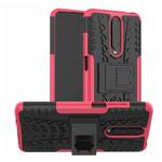 Чехол Yotrix Shockproof case для Xiaomi Poco X2 (розовый, гелевый)