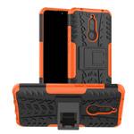 Чехол Yotrix Shockproof case для Xiaomi Redmi 8 (оранжевый, гелевый)