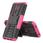Чехол Yotrix Shockproof case для Xiaomi Redmi 8 (розовый, гелевый)