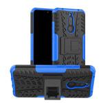 Чехол Yotrix Shockproof case для Xiaomi Redmi 8 (синий, гелевый)