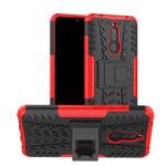 Чехол Yotrix Shockproof case для Xiaomi Redmi 8A (красный, гелевый)