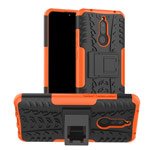 Чехол Yotrix Shockproof case для Xiaomi Redmi 8A (оранжевый, гелевый)