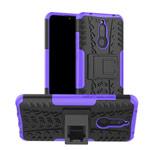 Чехол Yotrix Shockproof case для Xiaomi Redmi 8A (фиолетовый, гелевый)