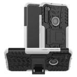 Чехол Yotrix Shockproof case для Xiaomi Redmi Note 8 (белый, гелевый)