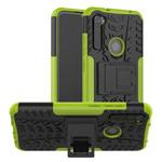 Чехол Yotrix Shockproof case для Xiaomi Redmi Note 8 (зеленый, гелевый)
