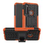 Чехол Yotrix Shockproof case для Xiaomi Redmi Note 8 (оранжевый, гелевый)