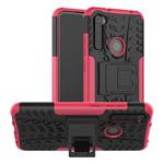 Чехол Yotrix Shockproof case для Xiaomi Redmi Note 8 (розовый, гелевый)
