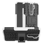 Чехол Yotrix Shockproof case для Xiaomi Redmi Note 8 pro (белый, гелевый)