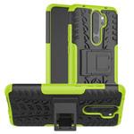 Чехол Yotrix Shockproof case для Xiaomi Redmi Note 8 pro (зеленый, гелевый)