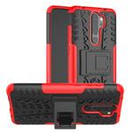 Чехол Yotrix Shockproof case для Xiaomi Redmi Note 8 pro (красный, гелевый)