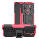 Чехол Yotrix Shockproof case для Xiaomi Redmi Note 8 pro (розовый, гелевый)