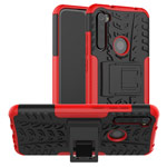 Чехол Yotrix Shockproof case для Xiaomi Redmi Note 8T (красный, гелевый)